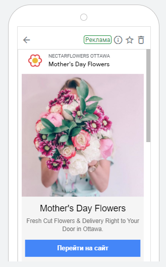 PPC Ottawa Mother's Day banner